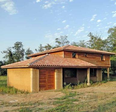 Cpie midi quercy r inventer la construction en terre crue l exemple de m - Construction maison en terre crue ...